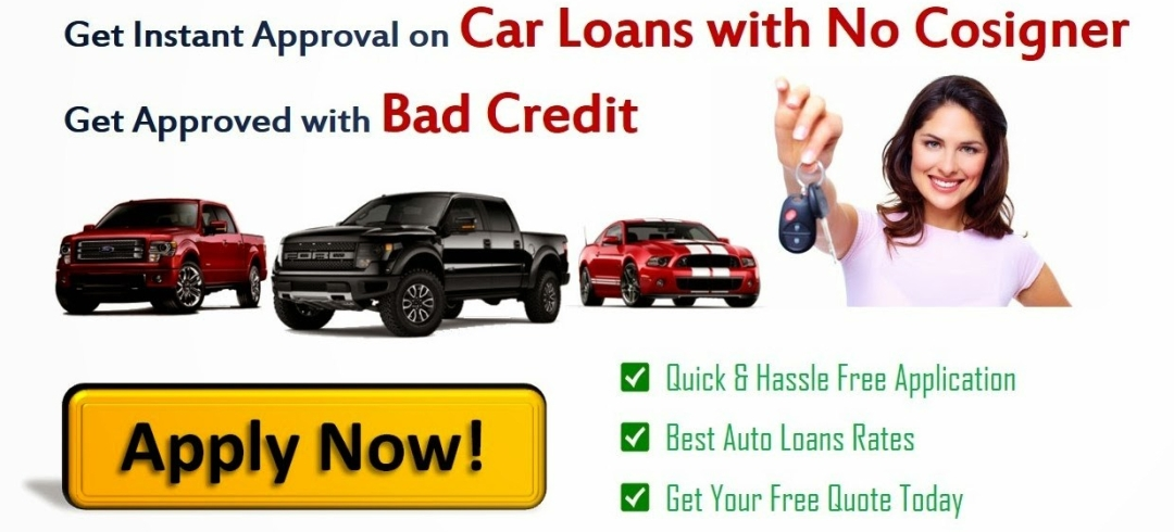 bad credit car loans with no cosigner